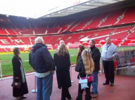 Private football stadium tour