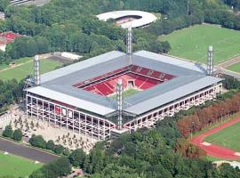 Famous football stadium in Cologne