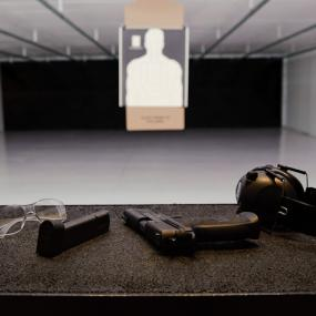 Modern shooting range in Cologne