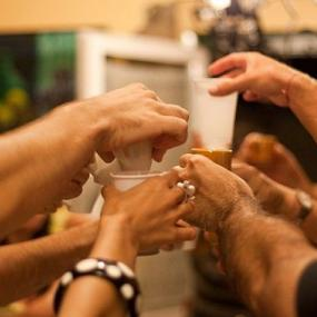 Kick off your bachelor party with bar crawl